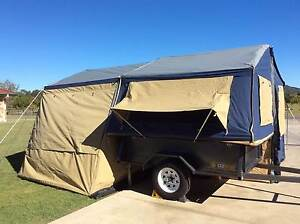 NEW OZTRAIL Ridgeline Latitude Camper Tent on TRAILER/Sunroom Yatala Gold Coast North Preview