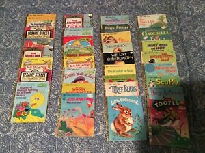 34 Little Golden Books 1970 S And 80 S Great Condition