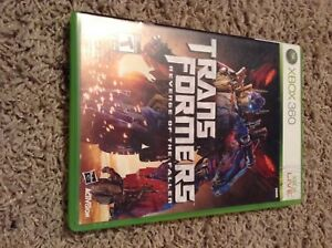 Xbox 360 transformers 2 game