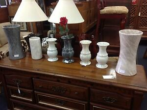 Brand new marble vases $45 - $135 Ashmore Gold Coast City Preview