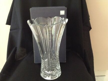 BOHEMIA CRYSTAL VASE. New. One only!