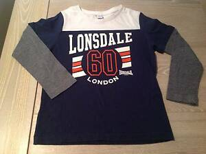 Size 4, Lonsdale Long Sleeve Top Mawson Lakes Salisbury Area Preview