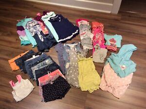 Lot de vêtements de marque été fille 4T