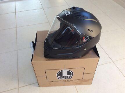 Motorcycle helmet AGV AX8 EVO D/SPT MT black