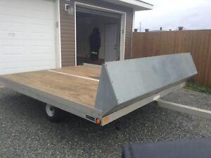 2000 Aluminum Tilt Deck Snowmobile/ATV trailer