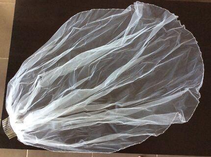Stunning Bridal Veil with Beading Detail