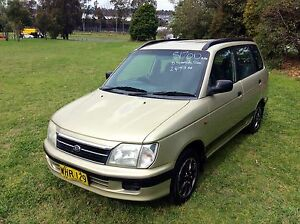 1999 Daihatsu Pyzar GRV 4 Cyl 5 speed Wagon 3 months Rego Woodbine Campbelltown Area Preview