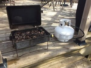 Portable Gas BBQ with 11 lbs Propane Tank (Full)