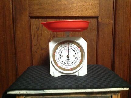Vintage Kitchen Scales .