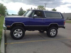 1981 Dodge Ram charger