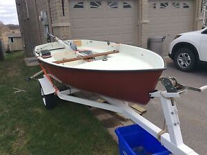 11 ft Sailboat Dinghy with Trailer