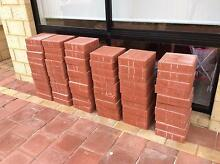 60 red brick pavers 220x220x60 Woodlands Stirling Area Preview
