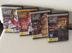 STAR WARS  DVD'S Beenleigh Logan Area Preview