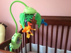 Mobile musical Fisher Price rain forest