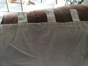 Taupe Drapes (2 Panels) (Price Reduced)