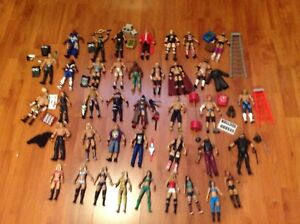 Wwe Mattel  elite loose collection by any 5 pay 10$ each