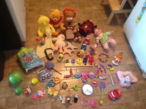 Huge Baby Toy Lot