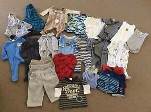 Bundle of Baby Boy Clothing 0-3mths Hillarys Joondalup Area Preview