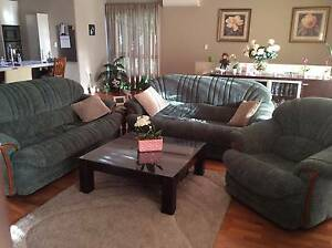 2 x 3 seater and 1 single seat lounge suite Illawong Sutherland Area Preview
