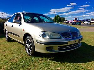 2003 Nissan Pulsar ST 1.8 sedan excellent condition 3 months rego Woodbine Campbelltown Area Preview
