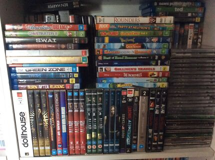 Dvds movies and tv serries