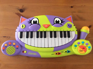 Kitty Keyboard Musical Piano/Recorder Toy