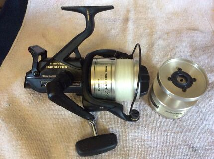 SHIMANO Baitrunner 4500B with spare spool,reduced pricing!