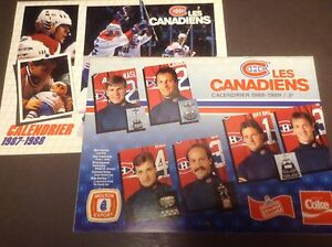 Grands calendriers hockey Canadiens Roy carte