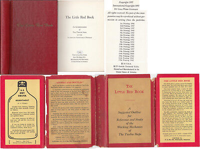 The Little Red Book 1963 Dj 12 Steps Alcoholics Anonymous Aa