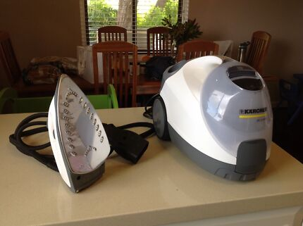 Karcher steam cleaner with steam iron