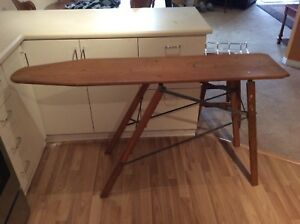 Antique Ironing and Folding table