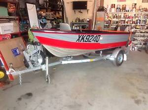 Stessel 1985 Boat Motor and Trailer New Beith Logan Area Preview