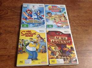 Nintendo Wii Games & Accessories Sales. West Ryde Ryde Area Preview