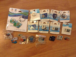 OLYMPIC PINS ( UNOPENED LOT)