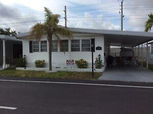 À vendre, Maison mobile à Park Lake , Hallandale, Floride,