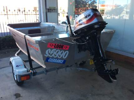 2007 Stacer Runabout with 15hp Mariner motor