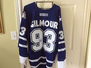 Signed Gilmour jersey