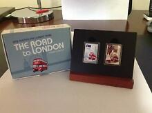 AUSTRALIAN COINS - The Road To London Stamp-Coin Set Collingwood Park Ipswich City Preview