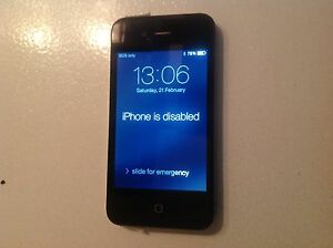 I phone 4 black, great condition Maylands Bayswater Area Preview