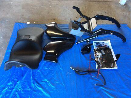DROP SEAT kit for harley tourer rushmore