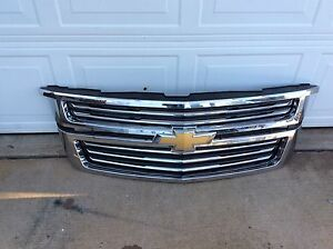Chevy suburban/tahoe grill 2015