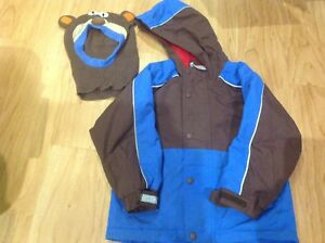 Size 110 size 5 hanna andersson jacket coat and hat