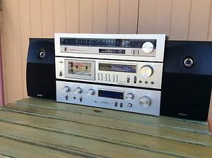 Pioneer stereo components and Energy speakers Panorama Mitcham Area Preview