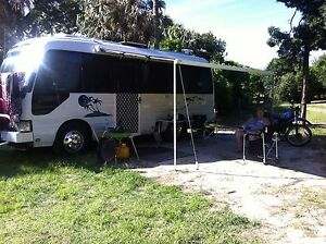 Motorhome Toyota Coaster Mount Warrigal Shellharbour Area Preview