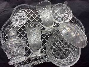Crystal Dresser Set - 6 pieces Ferryden Park Port Adelaide Area Preview