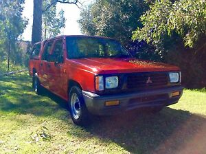 1996 Mitsubishi Triton duel cab ute 4 cyl 5 speed 3 months rego Woodbine Campbelltown Area Preview