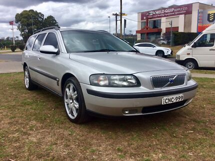 2002 Volvo V70 T5 75 Anniversary sports Turbo 7 Seat Wagon Leumeah Campbelltown Area Preview