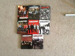Entourage seasons 1-7 on DVD