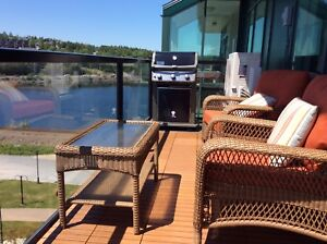"Fully Furnished  1 Bedroom Waterfront Condo ""Dockside"" Bedford"