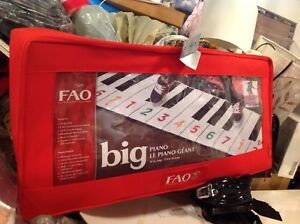 FAO Schwarz keyboard that you dance on to play